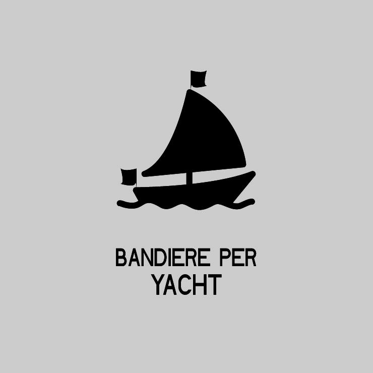 Bandiere per yacht e imbarcazioni