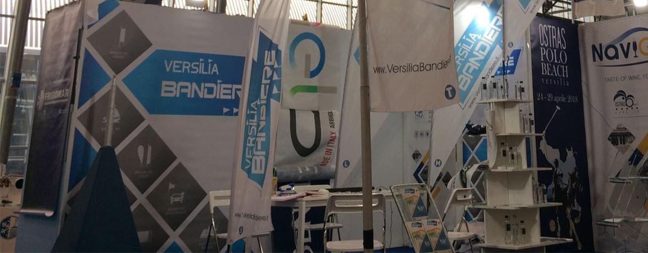 Versilia Bandiere al Salone Seatec&Compotec di CarraraFiere